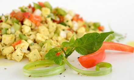 TOFU AND SAUTÉED PEPPERS SCRAMBLE