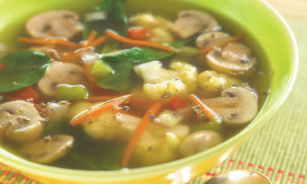 15-MINUTE GARDEN VEGETABLE SOUP