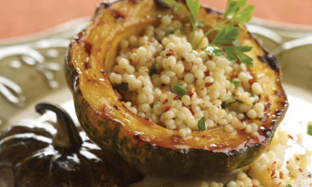STUFFED ROASTED ACORN SQUASH