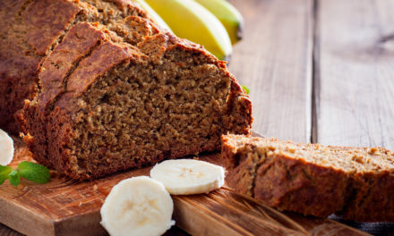 VEGAN WALNUT-BANANA BREAD