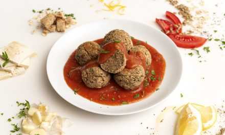 TOFU MEATBALLS WITH SWEET AND SOUR SAUCE