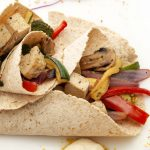 ROASTED VEGETABLE WRAPS WITH SEASONED MARINADE
