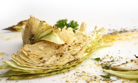 SUCCULENT ROASTED CABBAGE WEDGES
